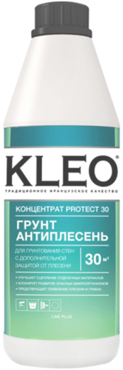 Kleo Концентрат Protect 30 грунт антиплесень (1 л)