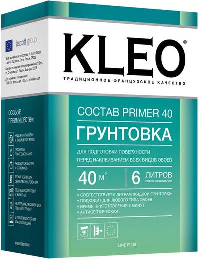 Kleo Состав Primer 40 грунтовка