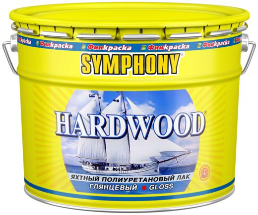 Лак Финкраска Симфония Hardwood яхтный полиуретановый 10 л глянцевый