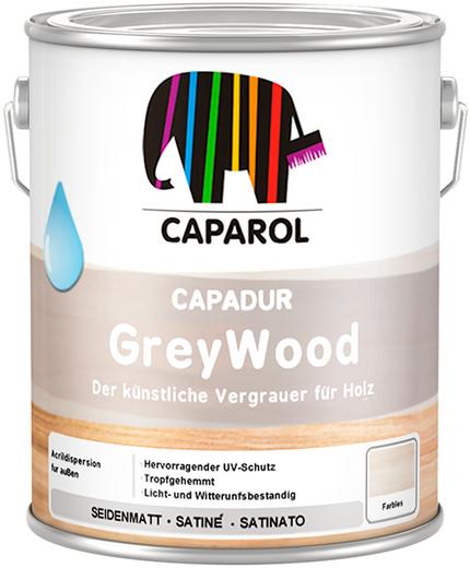 Caparol Capadur GreyWood высокопигментированная разбавляемая водой лазурь (5 л)