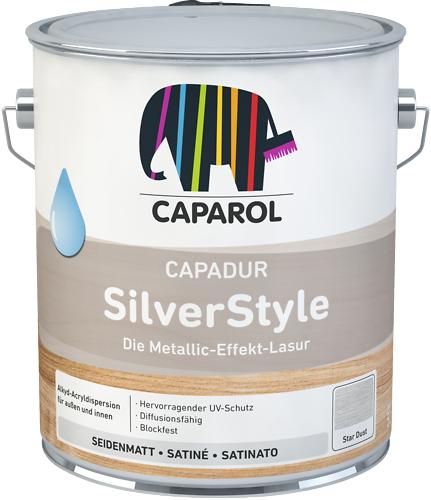Caparol Capadur SilverStyle водоразбавимая эффектная лазурь для необычного оформления деревянных поверхностей