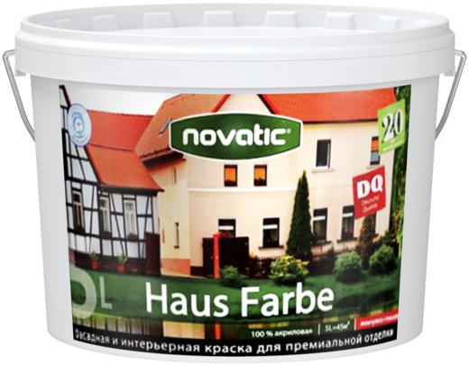 Feidal Novatic Haus Farbe универсальная жемчужно-глянцевая фасадная краска для всего дома