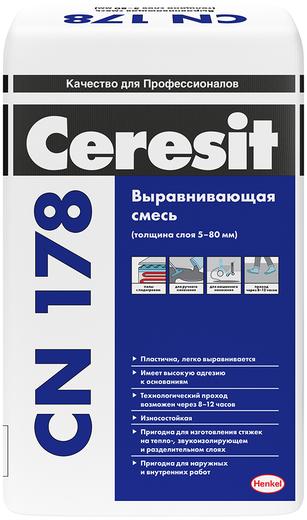 Ceresit CN 178 выравнивающая смесь (25 кг)