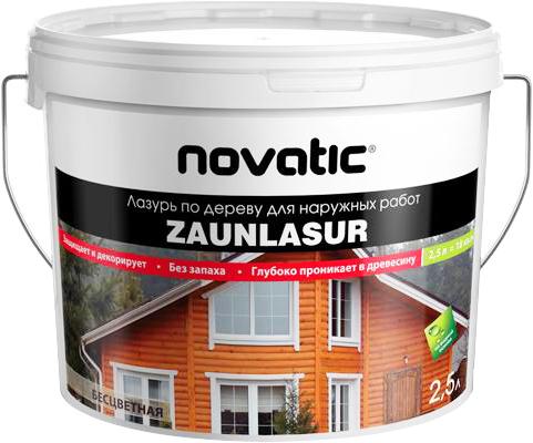 Feidal Novatic Zaunlasur лазурь по дереву для наружных работ (5 л) белая