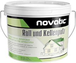 Feidal Novatic Roll und Kellenputz декоративная акриловая мелкозернистая штукатурка