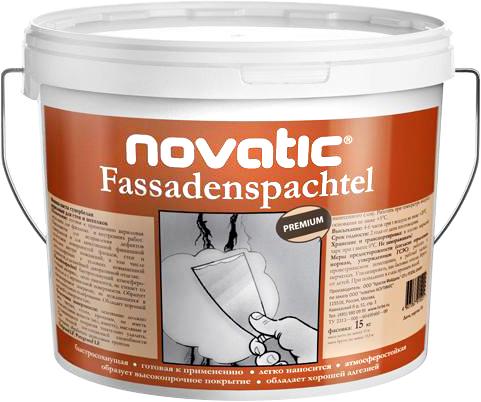 Feidal Novatic Fassadenspachtel универсальная фасадная акриловая шпатлевка (15 кг)