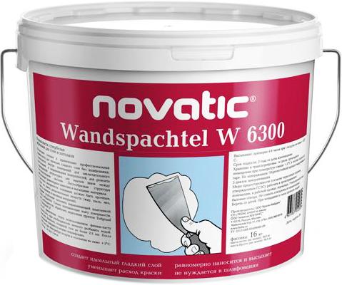 Wandspachtel w 6300 латексная финишная для внутренних работ 1.5 кг
