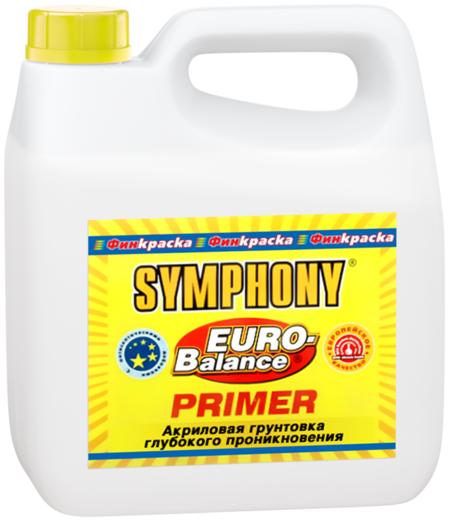 Финкраска Симфония Euro-Balance Primer акриловая грунтовка глубокого проникновения (10 л)