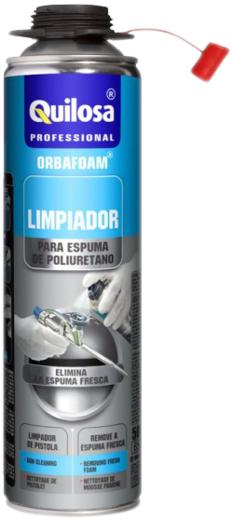 Quilosa Orbafoam Limpiador очиститель полиуретановой (ПУ) монтажной пены (500 мл)