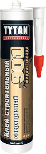 Титан Professional 901 клей строительный сверхпрочный жидкие гвозди (380 г)