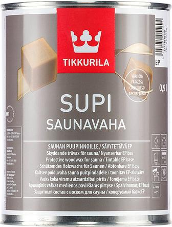 Тиккурила Супи Саунаваха защитный состав с воском для сауны (900 мл)