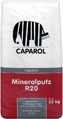 Caparol Capatect Mineralputz R20 минеральная сухая смесь для создания верхних штукатурок