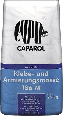 Caparol Capatect Klebe- und Armierungsmasse 186 минеральный заводской сухой раствор (25 кг)