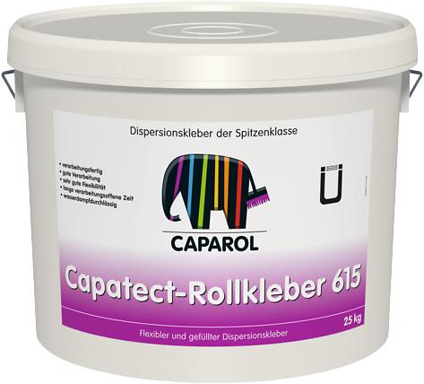 Caparol Capatect Rollkleber 615 пластичный и наполненный дисперсионный клей (25 кг)