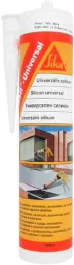 Sika Sikasil Universal эластичный ацетатный герметик на основе силикона (280 мл) белый