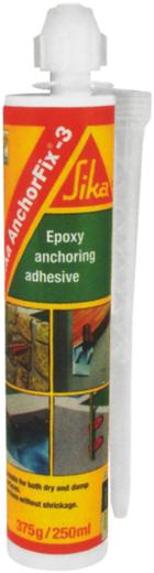 Sika Anchorfix-3+ высокоэффективный эпоксидный анкеровочный состав (250 мл)