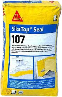 Sika Sikatop Seal-107 гидроизоляционный и выравнивающий раствор на цементной основе