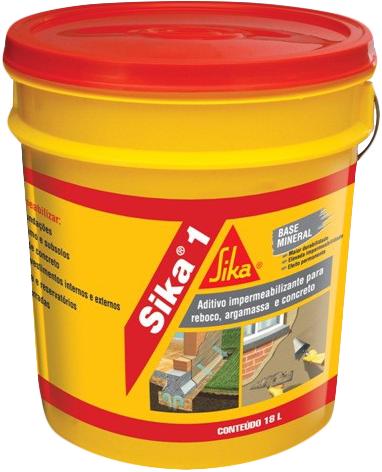 Sika 1+ добавка повышающая водонепроницаемость бетонов и растворов