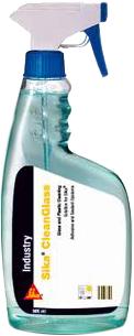 Sika Cleanglass высококачественный не образующий подтеков стекольный очиститель
