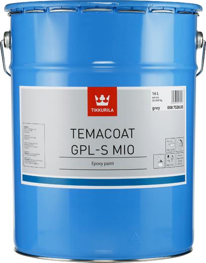 Тиккурила Темакоут ГПЛ-С Мио двухкомпонентная эпоксидная краска (20 л) красно-коричневая