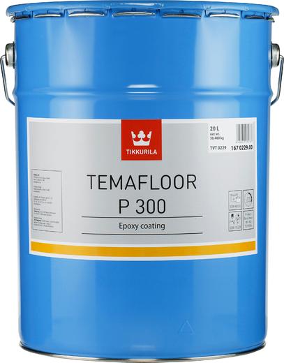 Тиккурила Темафлор П 300 двухкомпонентное эпоксидное покрытие (20 л база TLH) бесцветное