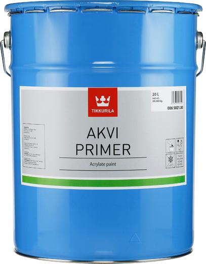Тиккурила Акви Праймер водоразбавляемая акрилатная грунтовка (20 л)