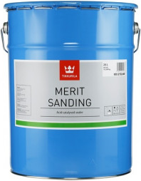 Тиккурила Мерит Сандинг быстросохнущий грунтовочный лак кислотного отверждения