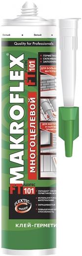 Макрофлекс FT101 клей-герметик высокомодульный многоцелевой (280 мл) белый