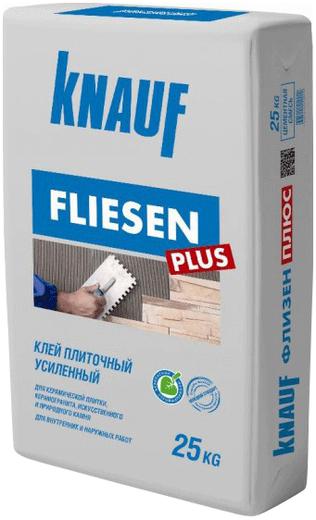 Кнауф Флизен Плюс клей плиточный усиленный (25 кг)