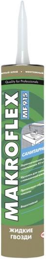 Макрофлекс MF915 жидкие гвозди сантехнический монтажный клей санитарный (400 г)
