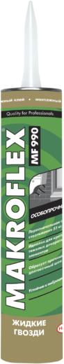 Макрофлекс MF990 жидкие гвозди монтажный клей особопрочный повышенной прочности