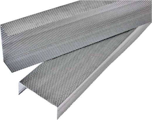 Ультра металлический потолочный пп 60 мм*27 мм*3 м