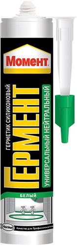 Момент Гермент герметик силиконовый универсальный нейтральный (280 мл) бесцветный