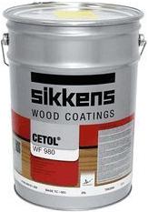 Sikkens Wood Coatings Cetol WF 980 водорастворимое прозрачное промежуточное и финишное покрытие