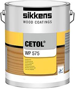 Sikkens Wood Coatings Cetol WP 575 водорастворимая бесцветная грунтовка под шлифовку
