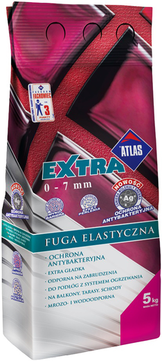 Смесь Атлас Extra Fuga elastyczna эластичная для затирки швов 2 кг жасмин