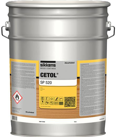 Sikkens Wood Coatings Cetol SP 520 прозрачный грунт на основе растворителя (10 л)