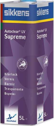Sikkens Autoclear LV Supreme универсальный двухкомпонентный лак (5 л)