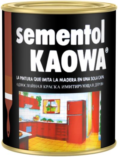 Quilosa Sementol Kaowa однослойная краска имитирующая дерево
