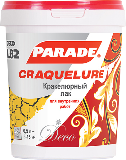 Parade L82 Craquelure кракелюрный лак
