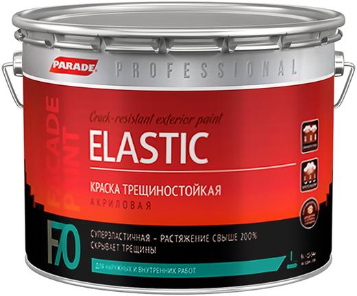 Parade Professional F70 Elastic краска трещиностойкая акриловая (9 л) белая