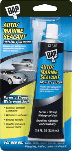 DAP Auto/Marine Sealant силиконовый герметик для автомобилей и морских судов