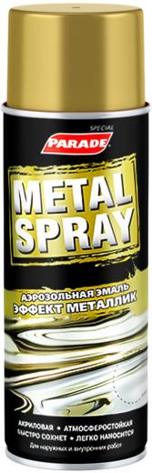 Parade Metal Spray аэрозольная эмаль