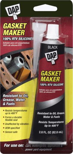 DAP Gasket Maker силиконовый герметик-прокладка (82.8 мл) черный