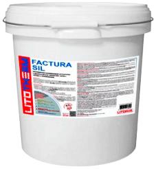 Литокол Litotherm Factura Sil фасадная силиконовая штукатурка с эффектом шуба