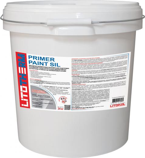 Литокол Litotherm Primer Paint Sil фасадная силиконовая грунтовка