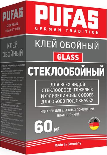Glass для стеклообоев, тяжелых и флизелиновых обоев 500 г