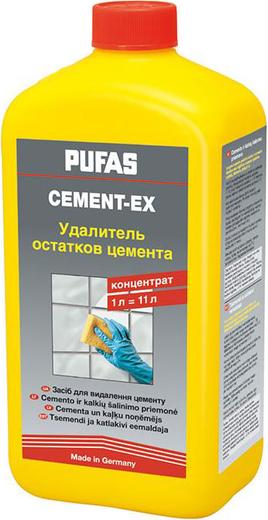 Пуфас Cement-Ex удалитель остатков цемента (1 л)