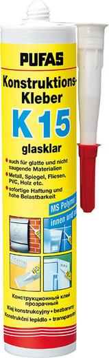 Пуфас Konstruktions-Kleber K15 конструкционный клей (290 мл)