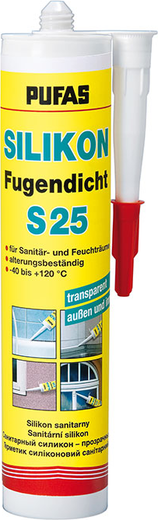 Пуфас Silikon Fugendicht S25 санитарный силикон